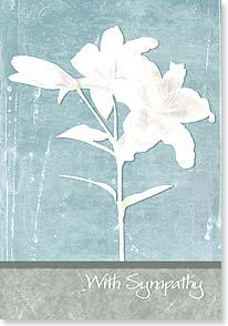 Sympathy Card - Thinking of you today and in the days to come. | Phoenix Creative | 18278 | Leanin' Tree