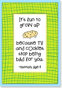 Birthday Card - Staff Pick - It's Fun to Grow Up | Kate Harper | 18332 | Leanin' Tree