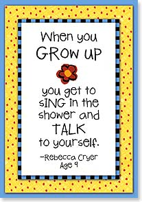 Birthday Card - Grow Up | Kate Harper | 18345 | Leanin' Tree