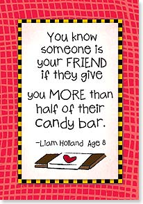 Friendship Card - You Know Someone Is Your Friend - 18350 | Leanin' Tree