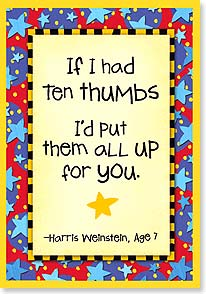 Congratulations Card - Thumbs Up For You!  | Kate Harper | 18353 | Leanin' Tree