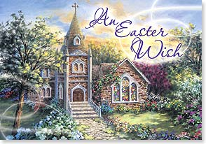 Easter Card - Easter Wish for An Abundance of Blessings | Nicky Boehme | 18487 | Leanin' Tree