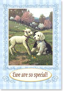 Easter Card - Ewe Are So Special  | Jim Lamb | 18490 | Leanin' Tree
