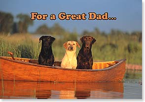 Father's Day Card - For A Great Dad | Kimball Stock | 18583 | Leanin' Tree