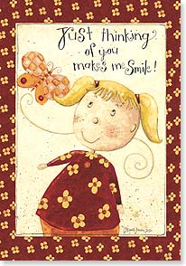Thinking of You Card - Just thinking Of You - 18737 | Leanin' Tree