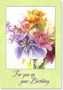 Birthday Card - A Special Day to Celebrate You | Judy Stalus | 18747 | Leanin' Tree