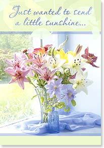 Loving Thoughts Card - Sending A Little Sunshine | Judy Stalus | 18748 | Leanin' Tree