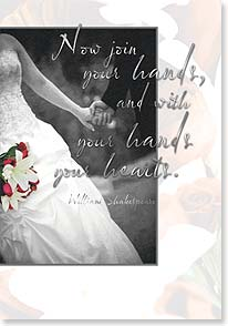 Wedding Card - Join Your Hands, Your Hearts | Ross and Kammi Bothwell | 18750 | Leanin' Tree