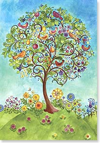 Birthday Card - Celebrating What A Gift You Are to the World.  | Sue Zipkin | 18751 | Leanin' Tree