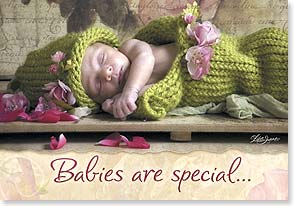 Baby Congratulations Card - Babies Are Special | Lisa Jane | 18771 | Leanin' Tree