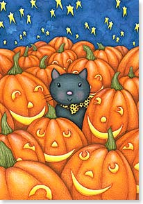 Halloween Card - Pumpkin Patch | Beth Logan | 18811 | Leanin' Tree