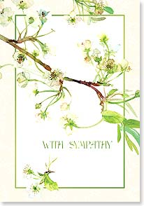 Sympathy Card - Please know you are being remembered in the prayers of many | Gail Flores | 18992 | Leanin' Tree
