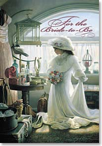 Congratulations Bride-to-Be Card - Your 'someday' has come! Congratulations | Greg Olsen | 19986 | Leanin' Tree