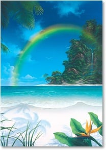 Encouragement & Support Card - A Rainbow is Waiting | David Christopher Miller | 1_2000201-P | Leanin' Tree