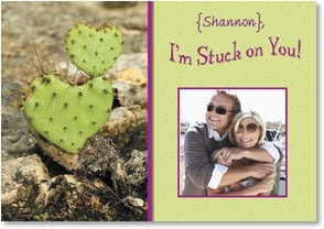 Anniversary Card - I'm Stuck on You! | Kristi Lindeman Beabout | 1_2000500-P | Leanin' Tree