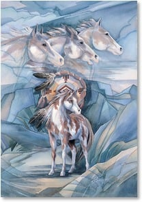 Birthday Card - Vision, Courage and Strength | Jody Bergsma | 1_2000604-P | Leanin' Tree