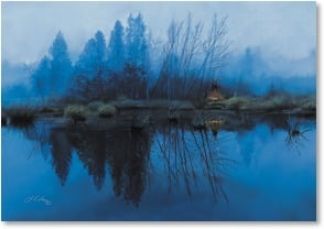 Blank Card - Lakeside Peace | Julie Kramer Cole | 1_2000608-P | Leanin' Tree