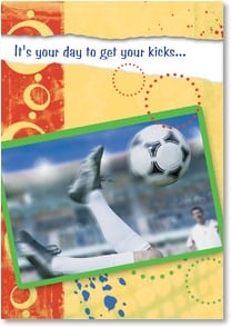 Birthday Card - Have a Ball! (If That's Your Goal!) | Masterfile Corporation | 1_2000625-P | Leanin' Tree
