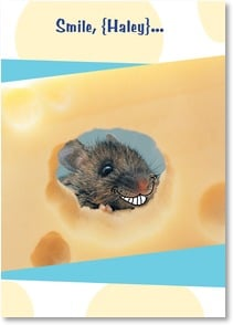 Birthday Card - Your Day to be the Big Cheese! | Getty Images | 1_2000639-P | Leanin' Tree