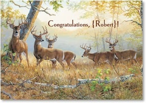 Congratulations Card - May The Big Bucks Come Your Way | Persis Clayton Weirs | 1_2000819-P | Leanin' Tree