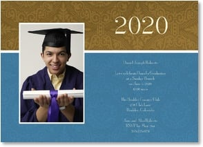 Graduation Invitation - Elegant Achievement | LT Studio | 1_2000873-P | Leanin' Tree