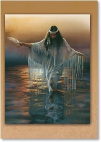 Thinking of You Card - Wishing you gentle peace! | Lee Bogle | 1_2000983-P | Leanin' Tree