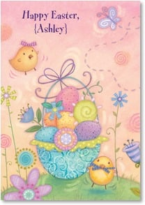 Easter Card - Reminders of Jesus' love; Psalm 135:3 | Viv Eisner | 1_2001041-P | Leanin' Tree