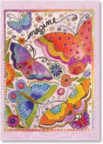 Anytime Wish for You Card - A world full of love and beauty! | Laurel Burch® | 1_2001144-P | Leanin' Tree
