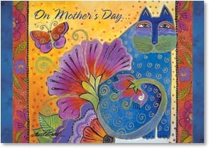 Mother's Day Card - Blossoms Butterflies and Dreams | Laurel Burch® | 1_2001163-P | Leanin' Tree