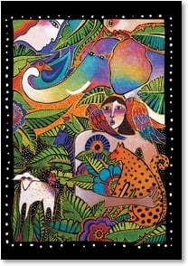 Friendship Card - My wild and wonderful firend! | Laurel Burch® | 1_2001166-P | Leanin' Tree