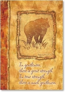 Father's Day Card - The Goodness & Strength in You | Kathleen Denis | 1_2001386-P | Leanin' Tree