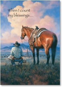 Appreciate You Card - I always begin with you; Ephesians 1:16 | Jack Sorenson | 1_2001493-P | Leanin' Tree