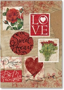 Valentine's Day Card - These simple words say what's in my heart... | Tim Coffey | 1_2001609-P | Leanin' Tree