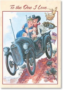 Anniversary Card - Good ol' fashioned lovin' | Mike Scovel | 1_2001690-P | Leanin' Tree
