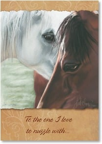 Love & Romance Card - To the One I Love to Love | Kim McElroy | 1_2001694-P | Leanin' Tree