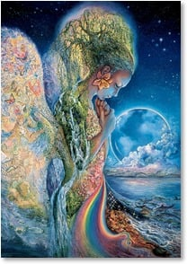 Blank Card - Sadness of Gaia | Josephine Wall | 1_2001710-P | Leanin' Tree