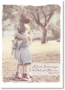 Get Well Card - A hug and a prayer; Acts 20:32 | Kathleen Francour | 1_2001844-P | Leanin' Tree