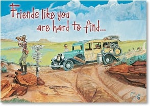 Friendship Card - Really Really Hard to Find! | Boots Reynolds | 1_2001903-P | Leanin' Tree