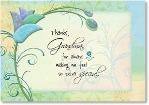 Mother's Day Card - Thanks Grandma; Philippians 2:13 | Connie Haley | 1_2001911-P | Leanin' Tree