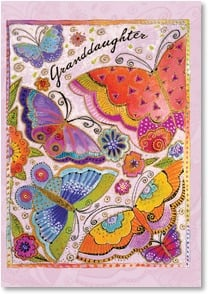Loving Thoughts Card - Sending my love: I Timothy 6:16 | Laurel Burch® | 1_2001957-P | Leanin' Tree