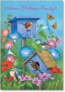 New Home Congratulations Card - Home filled with love and laughter... | Jane Maday | 1_2002000-P | Leanin' Tree