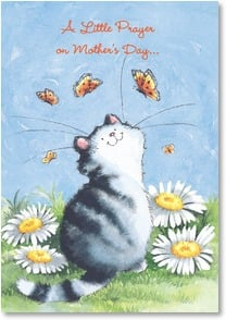 Mother's Day Card - A purr-fect mom; 1 Thessalonians 1:3 | Margaret Sherry | 1_2002001-P | Leanin' Tree