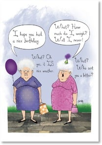 Birthday Card - Sister - It's nice when sisters understand | Leslie Moak Murray | 1_2002145-P | Leanin' Tree