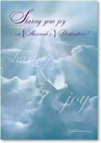 Dedication Card - Sharing your joy; Psalm 115:14 | Danny Hahlbohm | 1_2002164-P | Leanin' Tree