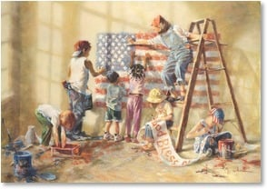 Thank You Card - For Military Service - We appreciate all you do! | Kathy Fincher | 1_2002338-P | Leanin' Tree