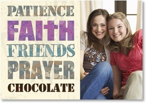Blank Card - Faith & Friends | LT Studio | 1_2002504-P | Leanin' Tree