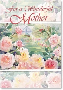 Mother's Day Card - For a Wonderful Mother | Judy Buswell | 1_2002541-P | Leanin' Tree