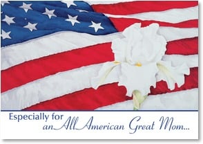 Birthday Card - An All American Great Mom | Nancy Kaestner | 1_2002562-P | Leanin' Tree
