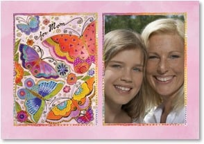 Birthday Card - Mom - May your heart be as light as butterfly wings, with love. | Laurel Burch® | 1_2002569-P | Leanin' Tree
