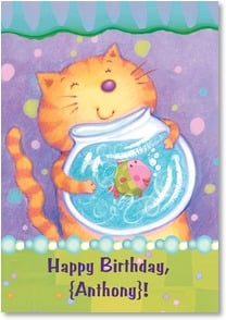 Birthday Card {Name} - Happy Birthday... | Viv Eisner | 1_2002656-P | Leanin' Tree